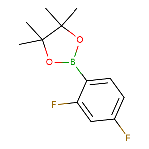 2-(2,4-Difluorophenyl)-4,4,5,5-tetramethyl-1,3,2-dioxaborolane,CAS No. 288101-48-4.