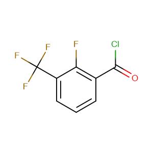 2-fluoro-3-(trifluoromethyl)benzoyl chloride,CAS No. 208173-19-7.