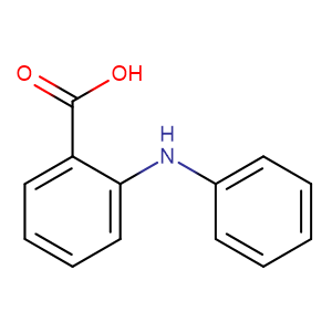 N-Phenylanthranilic acid,CAS No. 91-40-7.