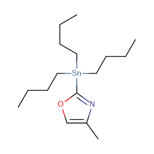 4-Methyl-2-(tributylstannyl)-oxazole,CAS No. 616239-57-7.