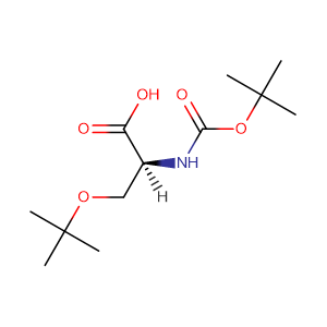 Boc-O-tert-butyl-L-serine,CAS No. 13734-38-8.