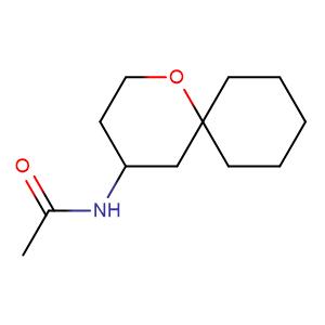 4-N-Acetylamino-1-oxaspiro[5.5]undecane,CAS No. 946051-14-5.