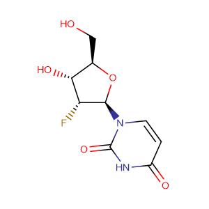 2'-Fluoro-2'-deoxyuridine,CAS No. 784-71-4.