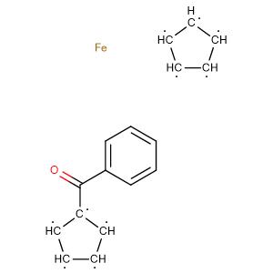 Benzoylferrocene,CAS No. 1272-44-2.