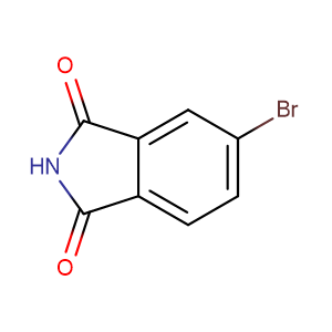 4-Bromophthalimide,CAS No. 6941-75-9.