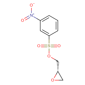 (S)-Oxiran-2-ylmethyl 3-nitrobenzenesulfonate,CAS No. 115314-14-2.