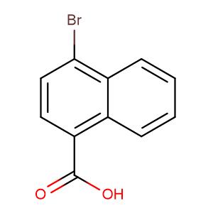 4-Bromo-1-naphthalenecarboxylic acid,CAS No. 16650-55-8.
