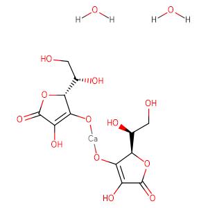 Calcium ascorbate dihydrate,CAS No. 5743-28-2.