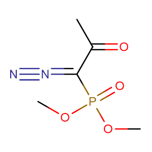 (1-Diazo-2-oxo-propyl)-phosphonic acid dimethyl ester,CAS No. 90965-06-3.