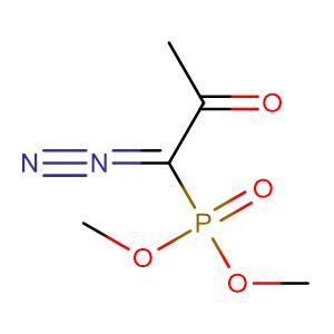 (1-Diazo-2-oxo-propyl)-phosphonic acid dimethyl ester,CAS No. 90965-06-3.