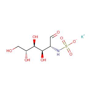 Potassium ((2R,3R,4S,5R)-3,4,5,6-tetrahydroxy-1-oxohexan-2-yl)sulfamate,CAS No. 31284-96-5.