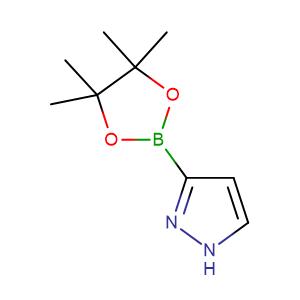 3-(4,4,5,5-Tetramethyl-1,3,2-dioxaborolan-2-yl)-1H-pyrazole,CAS No. 844501-71-9.