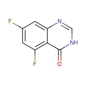 5,7-Difluoro-3,4-dihydroquinazolin-4-one,CAS No. 379228-58-7.