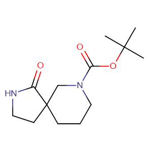 tert-butyl 1-oxo-2,7-diazaspiro[4.5]decane-7-carboxylate,CAS No. 923009-50-1.