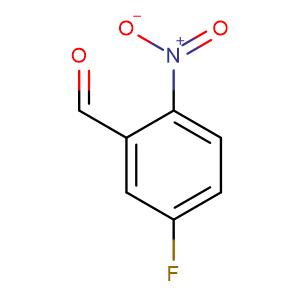 5-Fluoro-2-nitrobenzaldehyde,CAS No. 395-81-3.