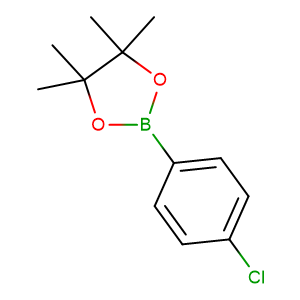 4 - Chlorophenylboronic acid pinacol ester,CAS No. 195062-61-4.