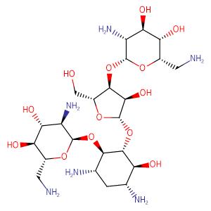 Neomycin,CAS No. 1404-04-2.