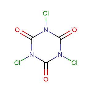 trichloroisocyanuric acid,CAS No. 87-90-1.