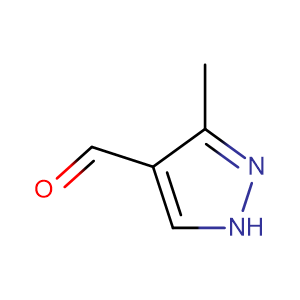 3-Methyl-1H-pyrazole-4-carboxaldehyde,CAS No. 112758-40-4.