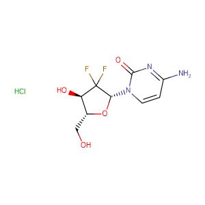 Gemcitabine hydrochloride,CAS No. 122111-03-9.