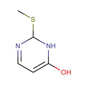 2-Methylthio-4(3H)-pyrimidinol,CAS No. 5751-20-2.