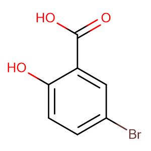 5-Bromo-2-hydroxybenzoic acid,CAS No. 89-55-4.
