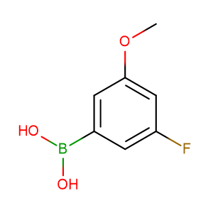 3 - Fluoro - 5 - methoxyphenylboronic acid,CAS No. 609807-25-2.