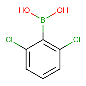 2,6-Dichlorophenylboronic acid,CAS No. 73852-17-2.