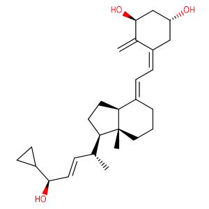 Calcipotriol,CAS No. 112828-00-9.