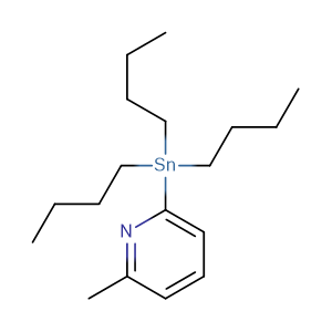 2-(tributylstannyl)-6-methylpyridine,CAS No. 259807-95-9.