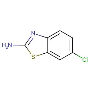 6-Chlorobenzothiazol-2-ylamine,CAS No. 95-24-9.