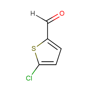 5-Chlorothiophene-2-carbaldehyde,CAS No. 7283-96-7.