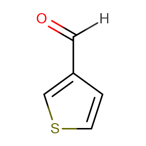 thiophene-3-carboxaldehyde,CAS No. 498-62-4.