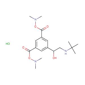 Bambuterol hydrochloride,CAS No. 81732-46-9.