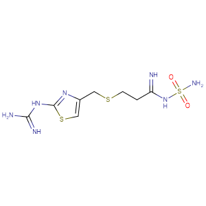 Famotidine,CAS No. 76824-35-6.