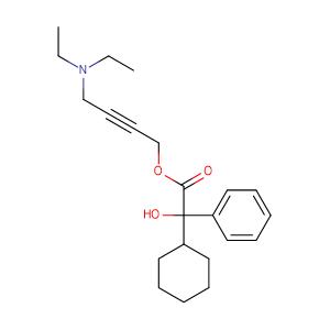 Oxybutynin,CAS No. 5633-20-5.