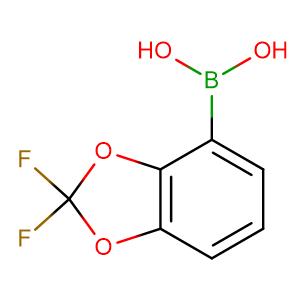 (2,2-Difluorobenzo[d][1,3]dioxol-4-yl)boronic acid,CAS No. 126120-87-4.