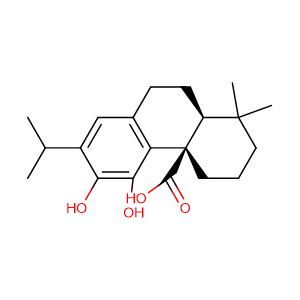 12-methoxycarnosic acid,CAS No. 3650-09-7.