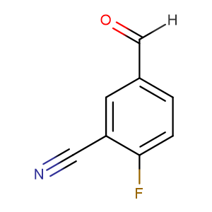 2-Fluoro-5-formylbenzonitrile,CAS No. 218301-22-5.
