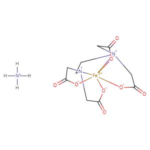 ammonium Fe(III)ethylenediaminetetraacetic acid,CAS No. 21265-50-9.