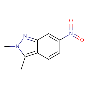 2,3-Dimethyl-6-nitro-2H-indazole,CAS No. 444731-73-1.