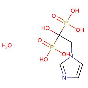 Zoledronic acid hydrate,CAS No. 165800-06-6.