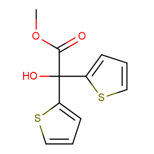 Methyl 2,2-dithienylglycolate,CAS No. 26447-85-8.