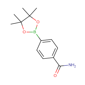 4 - Aminocarbonylphenylboronic acid pinacol ester,CAS No. 179117-44-3.