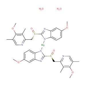 Esomeprazole magnesium dihydrate,CAS No. 217087-10-0.