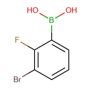 (3-Bromo-2-fluorophenyl)boronic acid,CAS No. 352535-97-8.