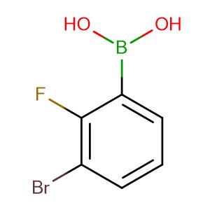 (3-Bromo-2-fluorophenyl)boronic acid,CAS No. 352535-97-8.