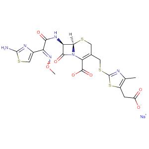Cefodizime sodium,CAS No. 86329-79-5.