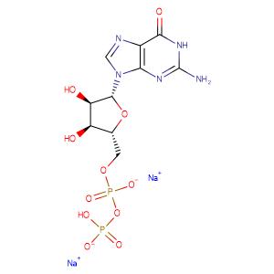 Guanosine-5'-diphosphate disodium salt,CAS No. 7415-69-2.