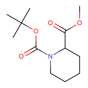Methyl N-Boc-piperidine-2-carboxylate,CAS No. 167423-93-0.